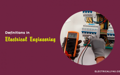 Definitions of Electrical Engineering