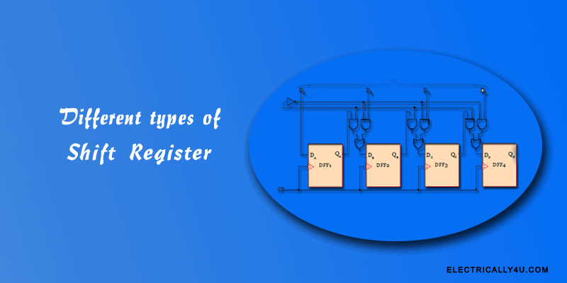 Different types of Shift Register