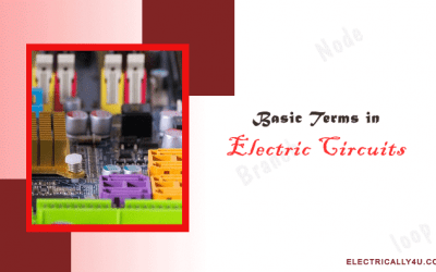 Basic Terms in Electric Circuits | Types of networks