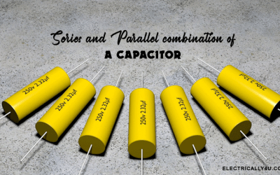 Series and Parallel combination of Capacitor