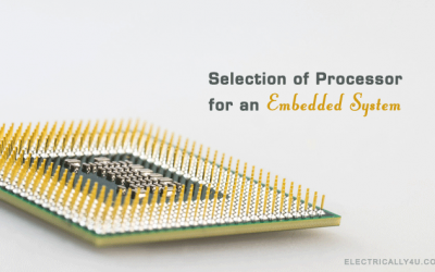 Selection of processor for an embedded system